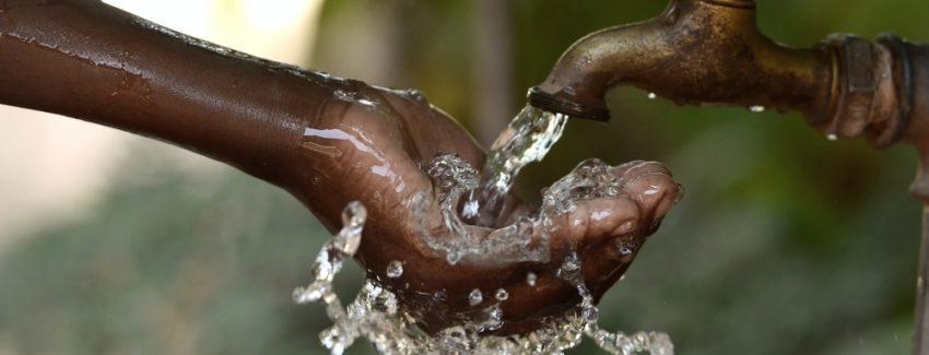 Water uit een Zuid-Afrikaanse kraan