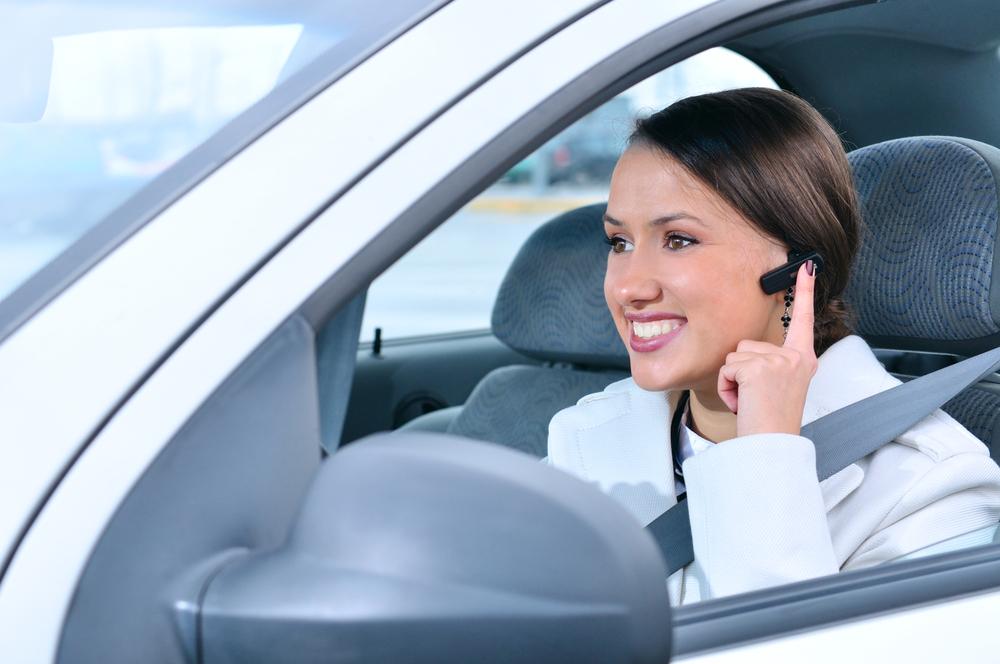 ook in de auto goed bereikbaar